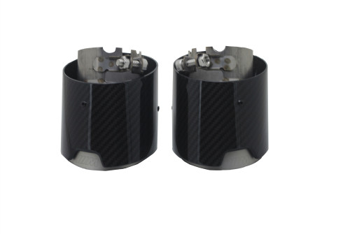 New and hot sale carbon fiber tips exhaust end pipes muffler  for Universal