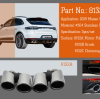 NEW EXHAUST TIPS FOR 2019 MACAN AND 2018 PORSCHE CAYENNE