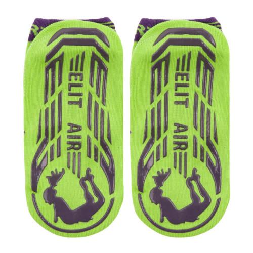 Trampoline Socks Rubber Sole
