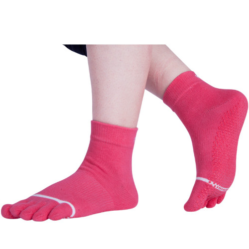 Full Toe Custom Logo Yoga Sock