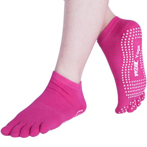 Pink Fitness Gym Yoga Socks