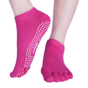 Pink Fitness Gym Yoga Socks