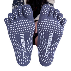 Custom Toe Yoga Slipper Socks