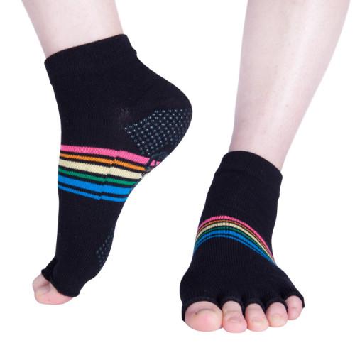 Half Toe Yoga Fitness Socks