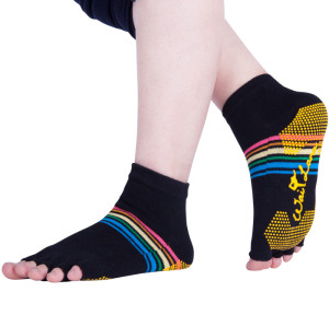 Half Toe Yoga Pilates Socks