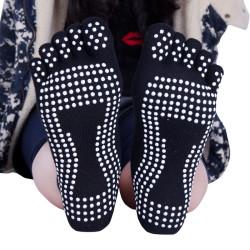Black Yoga Pilates Socks