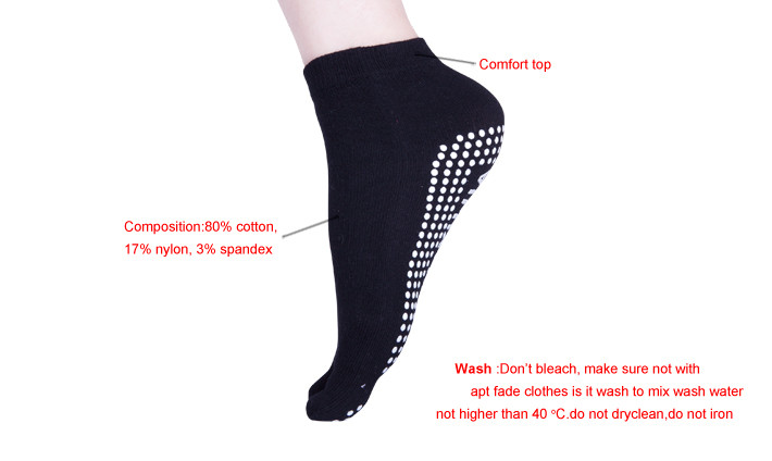 Anti Slip Jump Indoor Trampoline Park Socks Sport