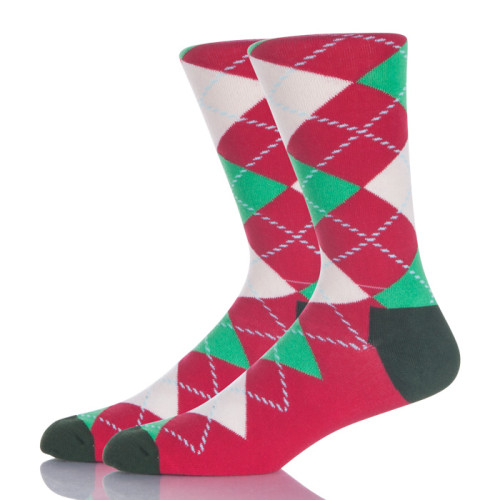 Red And Green Argyle Socks