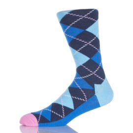 Classic Crew Argyle Socks