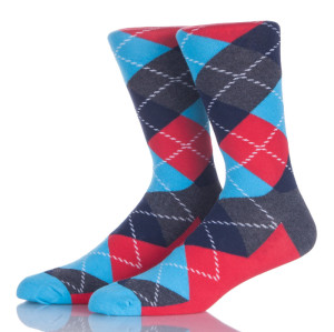 Men Dress Argyle Socks