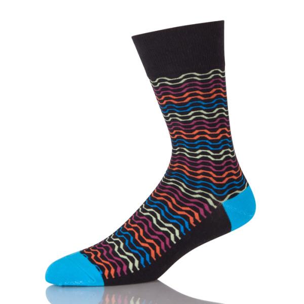 200 Needles Colorful Stripes Sock