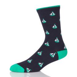 Custom Design Knitted Cotton Socks
