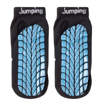 Indoor Adult Grip Jump Low Cut Socks Custom Trampoline Socks
