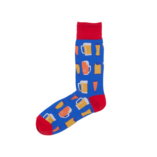 Bulk Wholesale Cheap Colored Sporty Custom Cotton Crew Socks Men