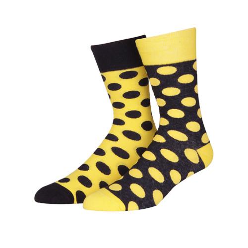 Yellow Dress Low Cut Socks Womens Cotton Dress Socks