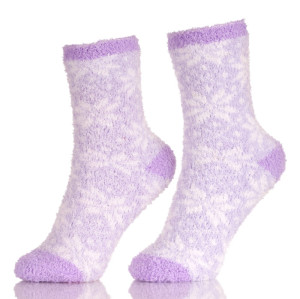 Soft Thick Warm Slipper Socks Winter Fleece Lined Fuzzy Non-Skid Children Home Socks