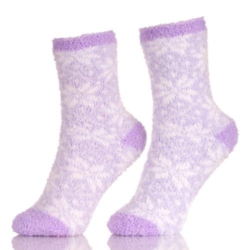 Soft Thick Warm Slipper Socks Winter Fleece Lined Fuzzy Non-Skid Children Home Socks