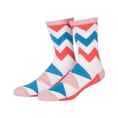Wholesale Fashion Personality Pattern Cotton Women Tube Socks