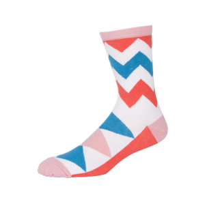 Wholesale Fashion Personality Pattern Cotton Women Tube Socks