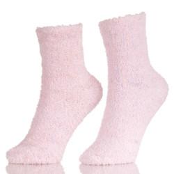 100% Cotton Cozy Winter Fluffy Fuzzy Slipper Custom Tube Towel Socks For Women