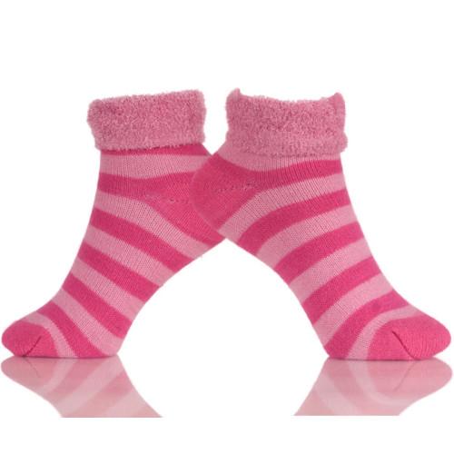 Women Winter Socks Warm Cute Fuzzy Home Slipper Low Cut Sock