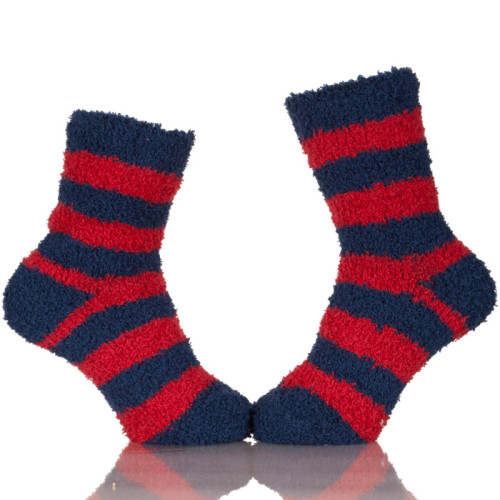 Zhejiang Premium Socks Women Microfiber Fuzzy Winter Warm Sleeping Slipper Socks