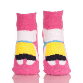 Women's Novelty Crazy Crew Socks Funny Colorful Floor Warm Socks