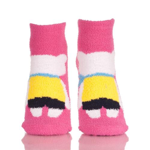 Women's Novelty Crazy Crew Socks Funny Colorful Floor Warm Socks