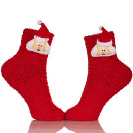Plush Slipper Socks Women - Colorful Warm Crew Socks Cozy Soft For Winter Indoor