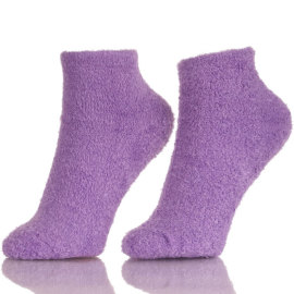Womens Multicolor Fashion Warm Wool Cotton Thick Winter Crew Socks