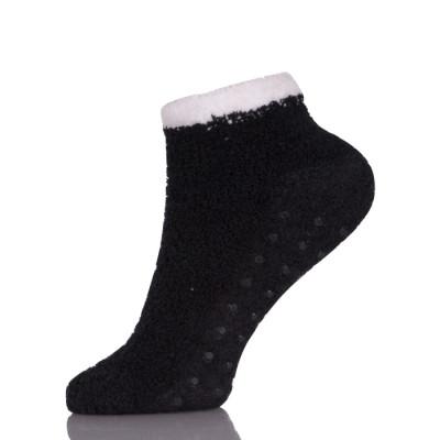 Ankle Non Skid/Slip Socks , Sleeping Socks ,Fuzzy Slipper Gripper Socks