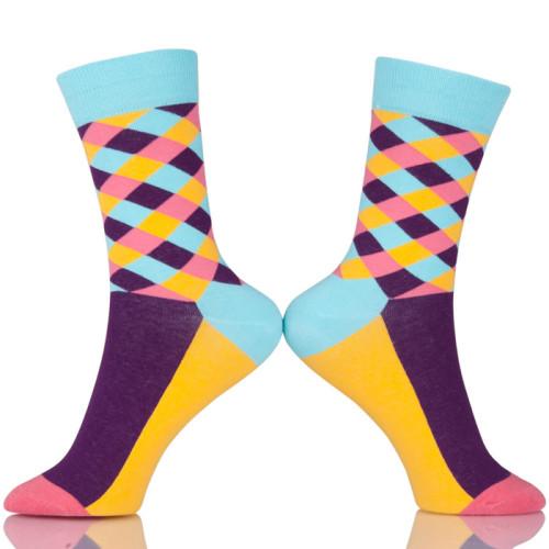 Korean School Colorful Stripes Socks