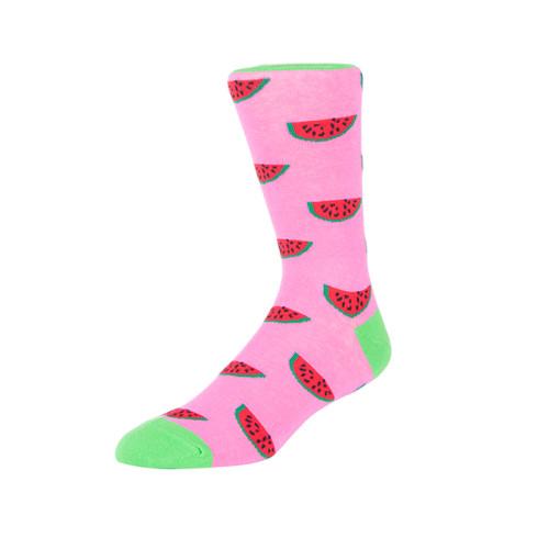Business Men Cotton Dress Socks Watermelon Thick Winter Crew Sock