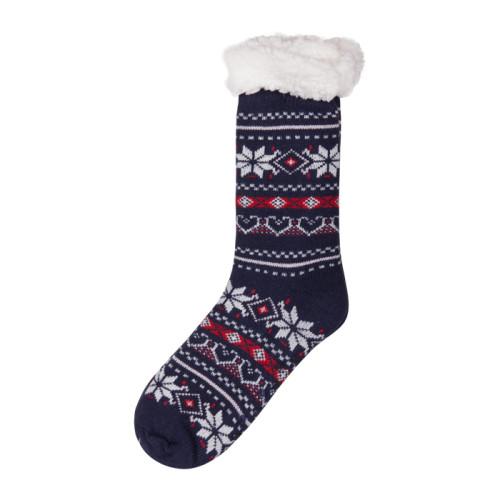 Custom High Quality Christmas Cozy Fuzzy Floor Warm Cute Socks Girls