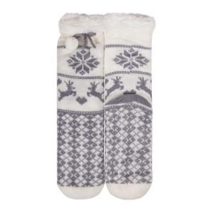 Indoor Floor Custom Warm Fuzzy Socks Winter