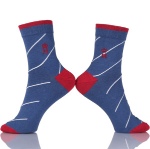 Custom Print Embroidery Logo Socks Men