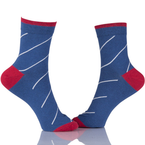 Custom Print Embroidery Logo Socks Men