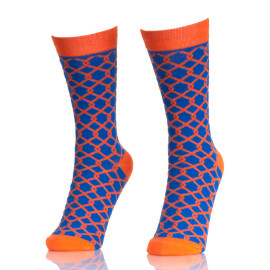 Mens Crazy Colored Socks Dress Socks Colorful Long