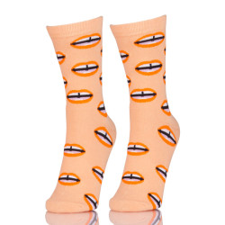 Funny Young Women Seamless Toe Socks