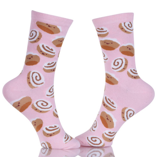 Bulk 100 Percent Cute Cotton Socks For Women