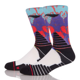 Custom Hot Selling Sport 3D Latest Technology Printing Sublimation Socks
