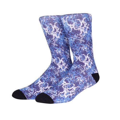 Custom Fashion Design 3D Printed Cotton Sublimation Socks