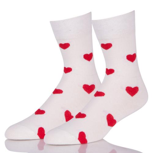 Wholesale Girl Heart Funky Crew Socks Crew Cut For Sale