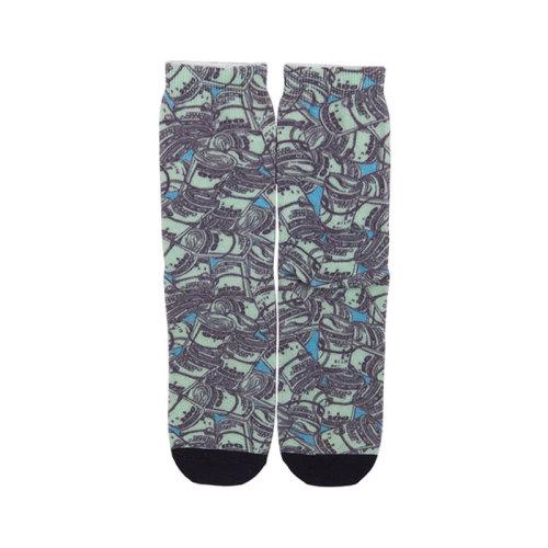 2019 Fashion Comfortable Soft Money Socks,Crew Cotton Canned Socks Cute