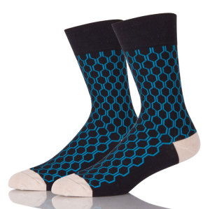 Hot Selling Custom Best Black Dress Sports Socks With Logo
