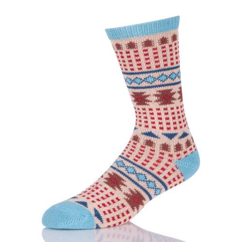 Fashion Sport Retro Tube Knitting Crew Socks Womens