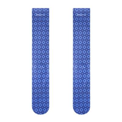 Unisex Funny Crazy 3D Puzzle Stripe Pattern Athletic Sports Crew Tube Socks