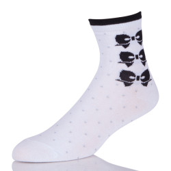 Best White Ankle Bow Socks Crew For Womens Online
