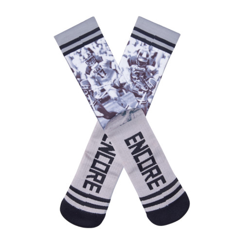 Gray Sublimation Socks ,Adult Unisex Cotton 360 Digital Printing Socks