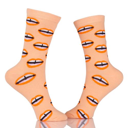 Fashion Hip Hop Street Combed Cotton Socks Creative Novelty Pattern Casual Socks